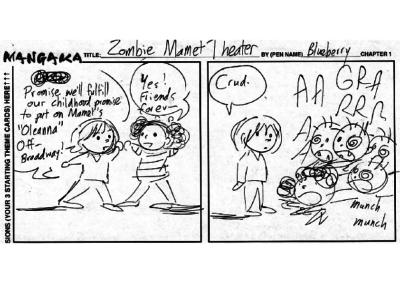 Zombie Mamet Theater